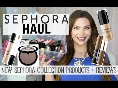 Sephora HAUL | NEW SEPHORA COLLECTION PRODUCTS + Mini Reviews