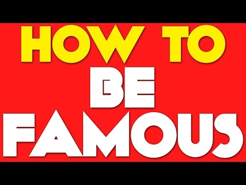 How to Become a Famous Singer!