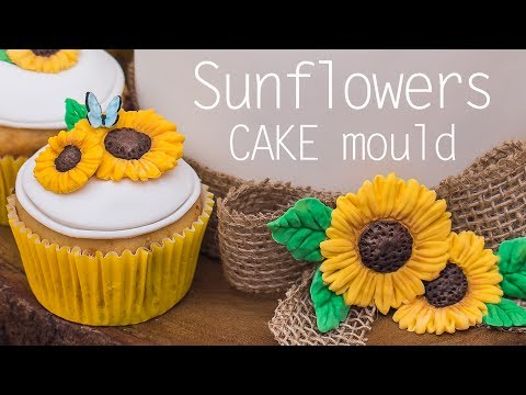 How To Use Our Sunflowers Cake Decorating Mould