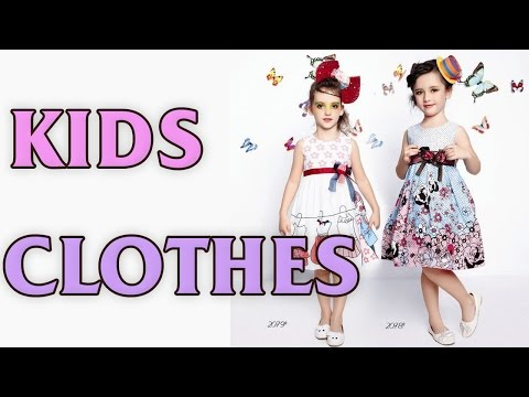 Kids designer clothes - 2017 spring-summer girl's dresses and costumes.