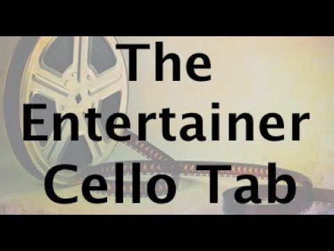 Learn The Entertainer on Cello - How to Play Tutorial
