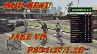 MOD MENU GTA V PS3 1 27/1 28 DEX/CEX BLES/BLUS +DOWNLOAD