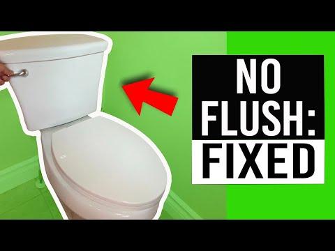 Toilet Won't Flush - How to Repair