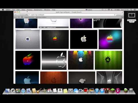 how to get an image off google as ur wallpaper on apple macs