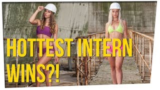 Power Plant Uses Bikini Contest to Pick Interns ft. Gina Darling & DavidSoComedy