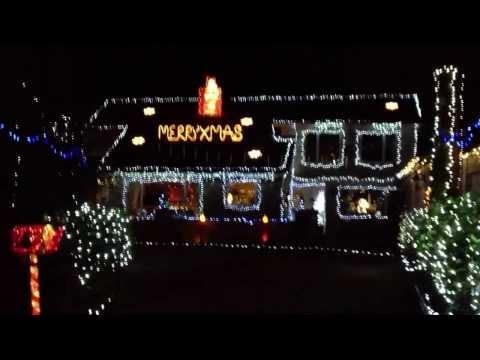 PONTEFRACT CHRISTMAS LIGHTS 2013