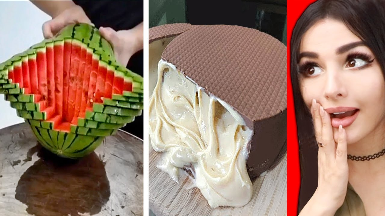 Most Oddly Satisfying FOOD Video Ever