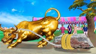 देवी और सुनहरा भैंस Goddess And Golden Buffalo Comedy हिंदी कहानियां Hindi Kahaniya Comedy Video