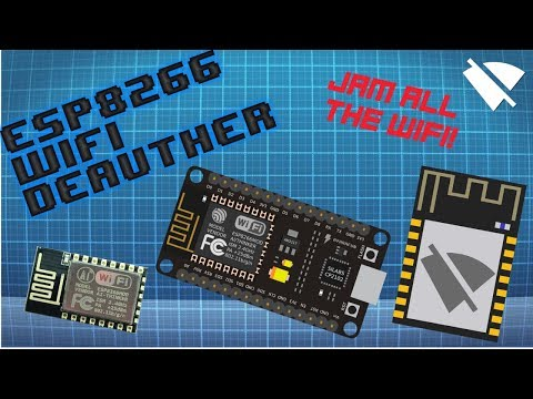 $3 WiFi Jammer/Deauther using ESP8266 | Deauther 2.0 Flashing/Installation