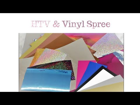 HTV & Vinyl unboxing