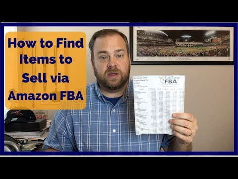 How to Find Items to Sell on Amazon FBA - My Thought Process