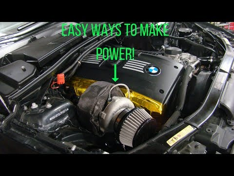 Top 3 Easy Mods to Make SIGNIFICANT Power on a Turbocharged Car!