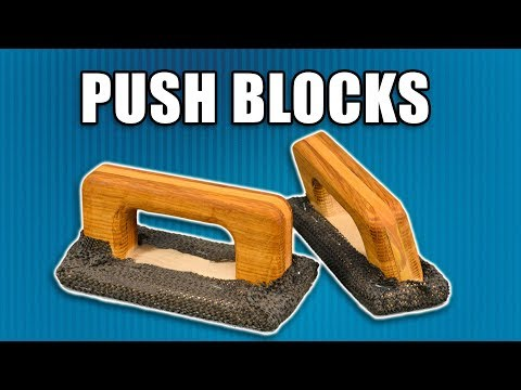 How to Make Push Blocks for Table Saws, Router Tables and Jointers