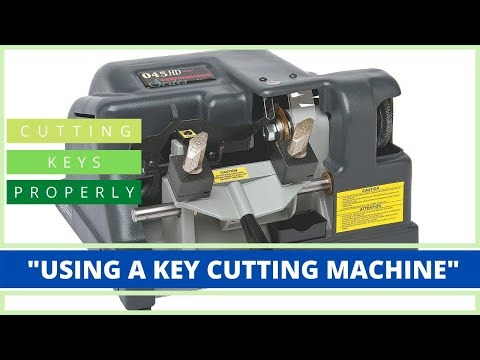 How To Cut A Key