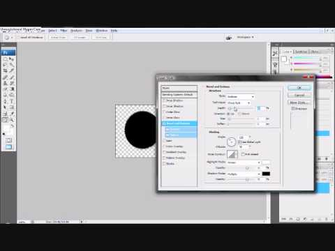 How to make a metal watermark in photoshop cs3!