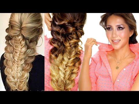 ★ EASY TOPSY BRAID Hairstyle | Everyday Hairstyles | Prom & School Hair