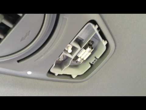 Honda Odyssey Interior Bulb Replacement DIY