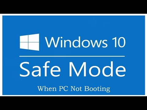 Boot Windows 10 in Safe Mode When PC is Not Booting
