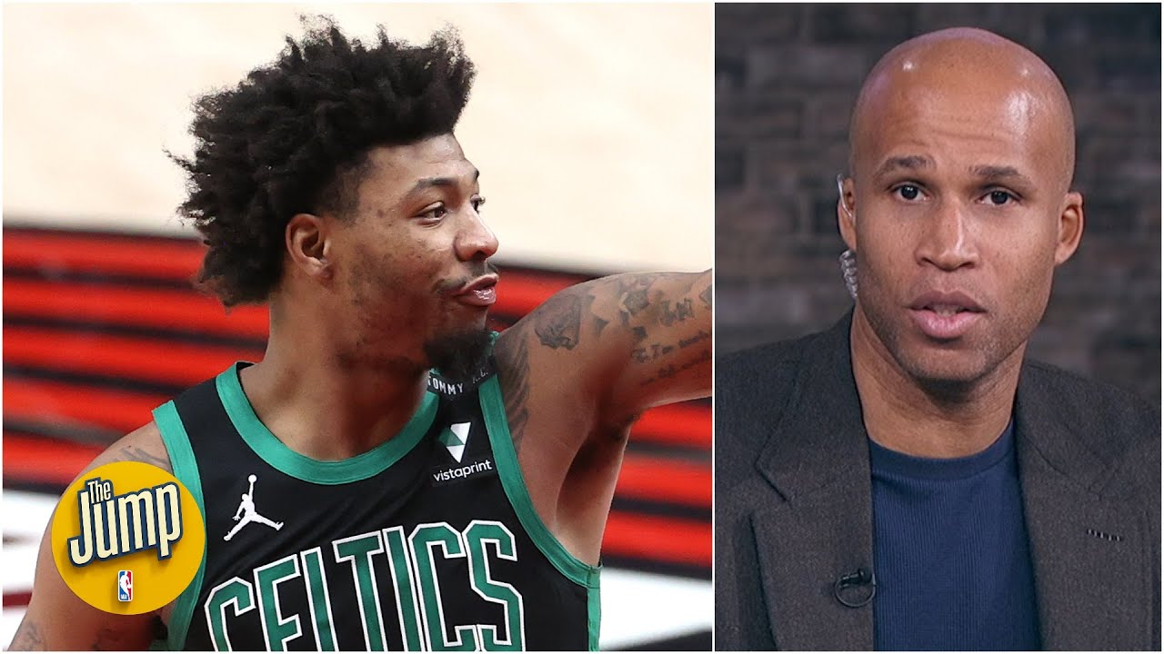 I love Marcus Smart's hustle, but I hate his flops! – Richard Jefferson   The Jump