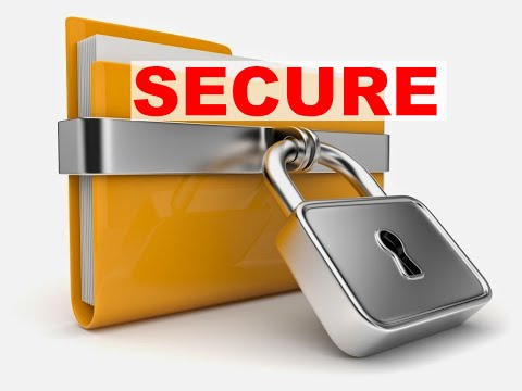 How to protect file or folder without any third-party application [ inaccessible and unreadable ]