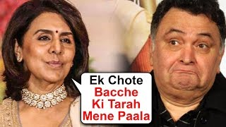 Neetu Kapoor EMOTIONAL Reaction On Rishi Kapoor's Cancer Treatment In New York
