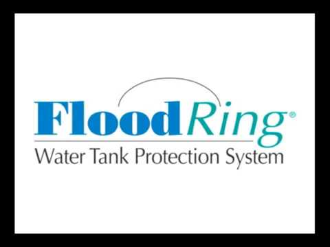 FloodRing stop's flooding from hot water heaters leaks