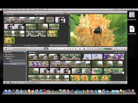 iMovie 11: Changing Clip Speed