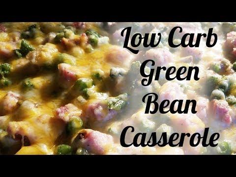 Keto Low Carb Thanksgiving Green Bean Casserole Recipe