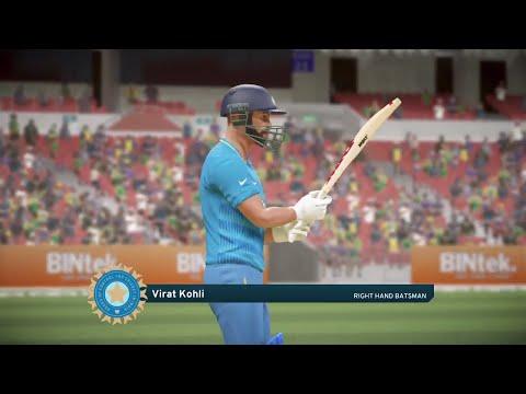 Don Bradman Cricket 17 India v Australia