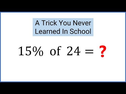 Calculate Percentages In Your Head