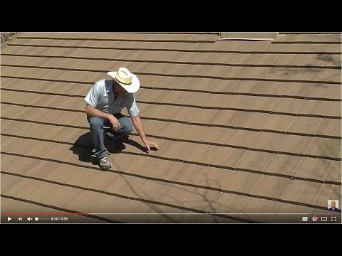 Walking on Concrete Tile Roofs