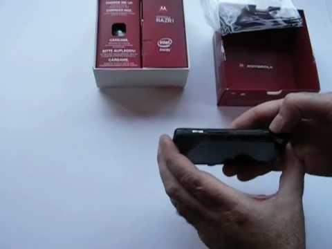 Motorola Razr i SIM Free & Outright Unboxing