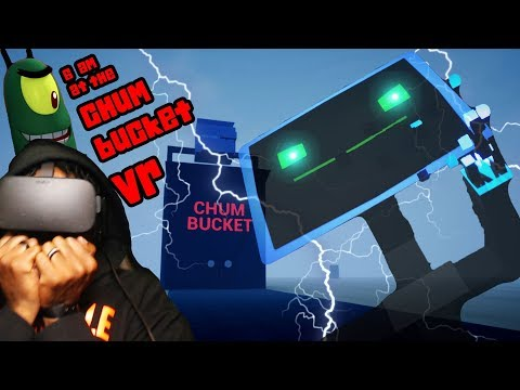 KAREN...WHAT HAVE YOU DONE? | 6AM At The Chum Bucket VR (w/ HEART RATE MONITOR)