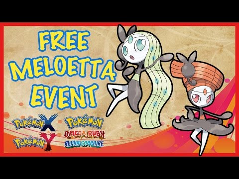 How to Get Free Meloetta + Relic Song | December 2016