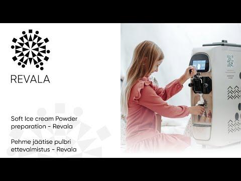 Soft Ice cream Powder preparation - Revala