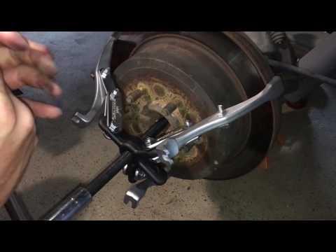 F150 Rear Rotor Removal