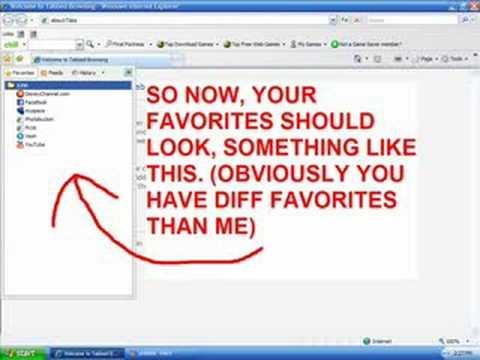 Tutorial: How to delete favorites easily.