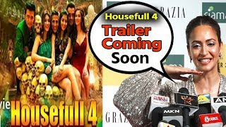 Kriti Kharbanda Reaction On Working With Akshay Kumar In  Housefull 4  | Trailer Coming Soon