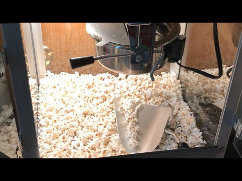 How to clean your popcorn machine
