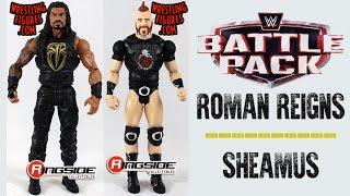 WWE FIGURE INSIDER: Sheamus & Roman Reigns - WWE Battle Pack Series 43.5 Figures By Mattel