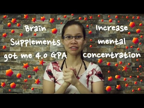 How to Use Brain Supplements to get a 4.0 GPA