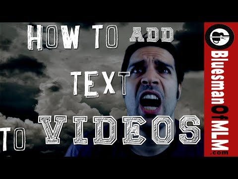 How To Add Text To A Video - 2 Easy Quick Ways [Tutorial]