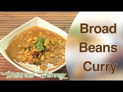 Vaalachi Bhaaji (Broad Beans Curry) By Smita || Universal Chimney