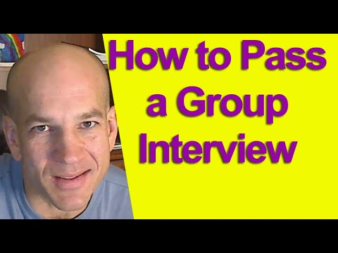 How To Ace Your Next Group Job Interview