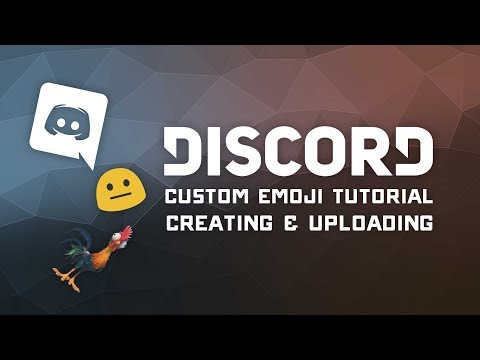 Discord Server Tutorial - Uploading & Creating Custom Emoji