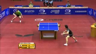 German Open 2014 Highlights: Ovtcharov vs. Mizutani (Final)