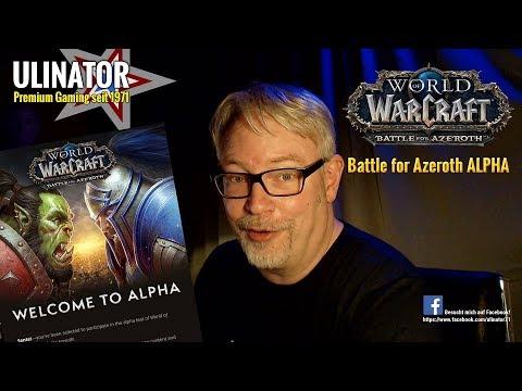 WORLD OF WARCRAFT Battle for Azeroth ALPHA deutsch [001]: Willkommen in Zuldazar!