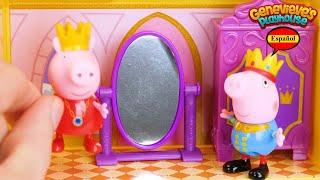Aprende los Palabras con Peppa Pig Castillo y Dragon!