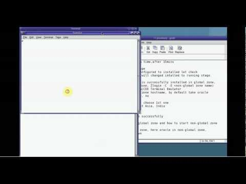 Zone administration  Install and configure non global zone in solaris10 video 3