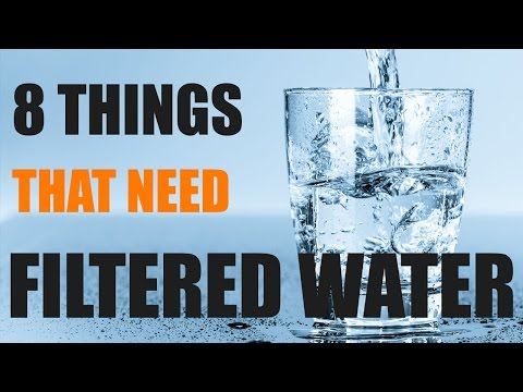 8 Things That Need Filtered Water
